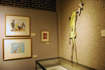 'Ronald Searle's America' pop-up exhibition