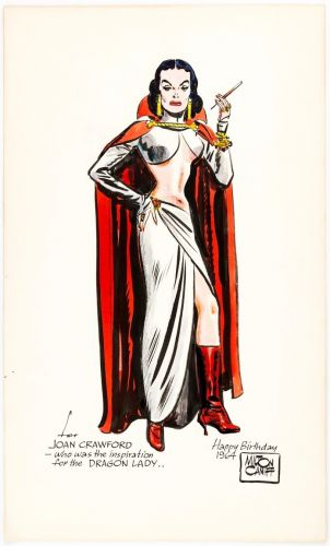 Milton Caniff - Dragon Lady Meets Joan Crawford 1964