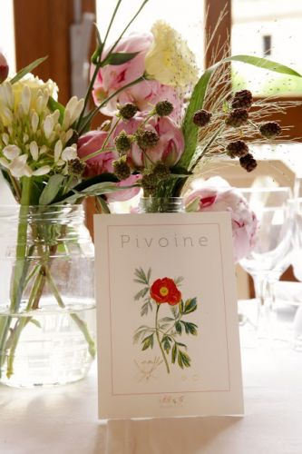 Papeterie fleurs sauvages | Wild flower wedding stationery