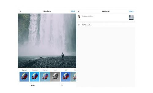 Windowed:  vos photos sur Instagram depuis un ordinateur