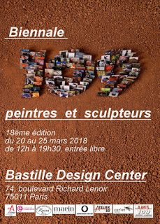 109 peintres et sculpteurs au Bastille Design Center