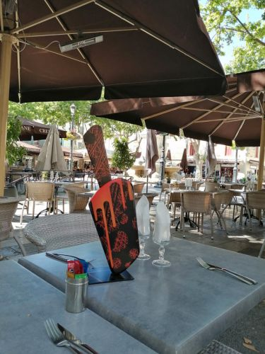 Ice Lolly Bulles a Aigues Mortes