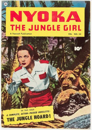 Nyoka the Jungle Girl No 52 Mile High Pedigree - Fawcett Publications, 1951