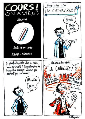 Cours ! On a virus - Jour 71
