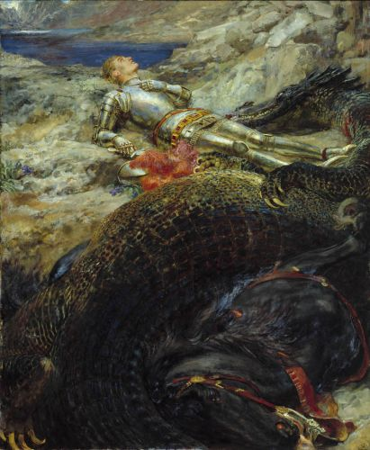 Briton RIVIERE Saint George and the Dragon 1908