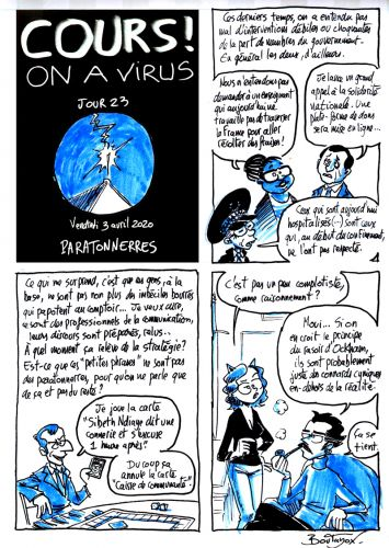 Cours ! On a virus - Jour 23