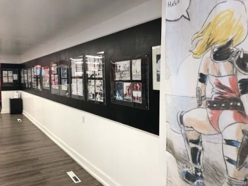 Exposition « Jimmy Beaulieu:  dessin libre »