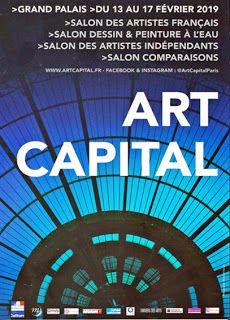 ART EN CAPITAL au Grand Palais à Paris