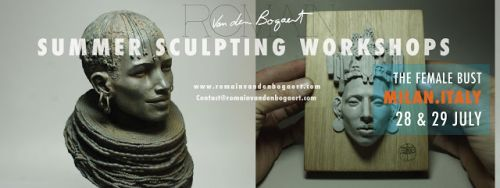 Summer sculpting workshop in Milan