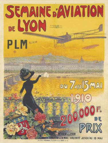 Charles TICHON Semaine d'Aviation de Lyon 1910