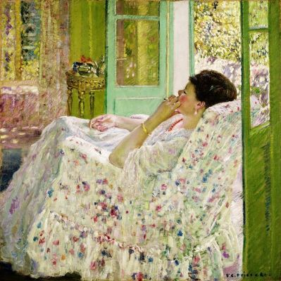 Frederick C. FRIESEKE In the Afternoon