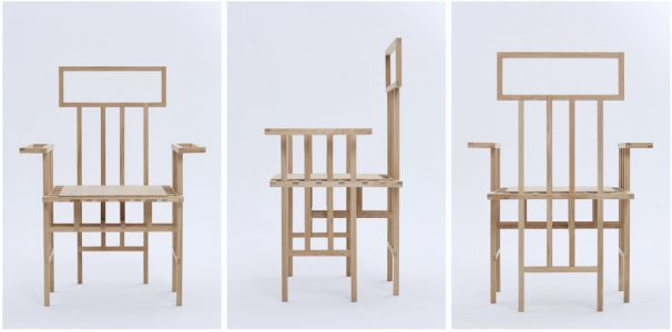 Abstract Chair par Egor Bondarenko