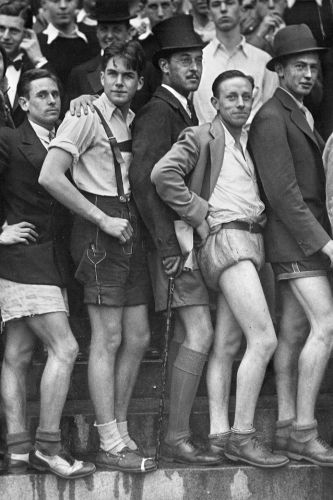 A rally for shorts at Dartmouth College in 1930