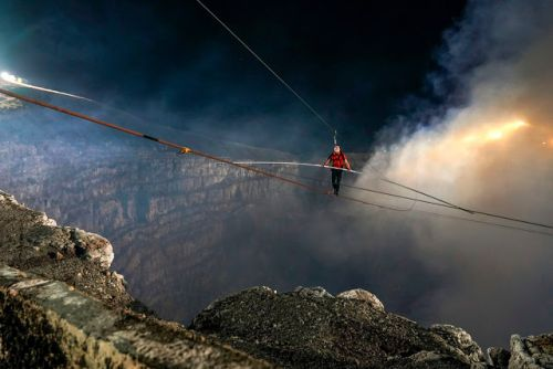 Nik WALLENDA, un nouvel exploit