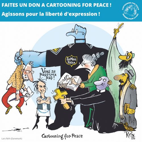 Cartooning for Peace lance sa campagne annuelle de dons