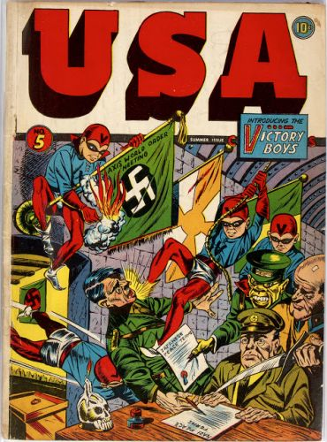 USA Comics No 05 - Timely, 1942
