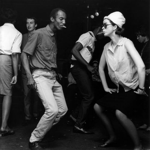 Dancing at the Flamingo Club on Wardour Street 1964 - Jeremy Fl