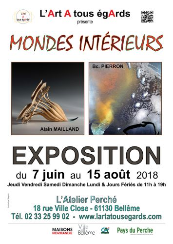 Exposition MONDES INTÉRIEURS