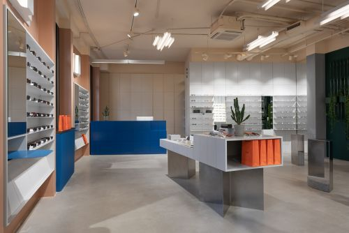 Retail:  P.Y.E Store New Holland par le studio Facultative Works