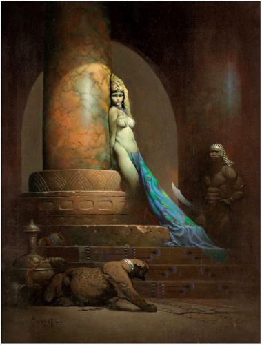 Frank Frazetta - Egyptian Queen 1969