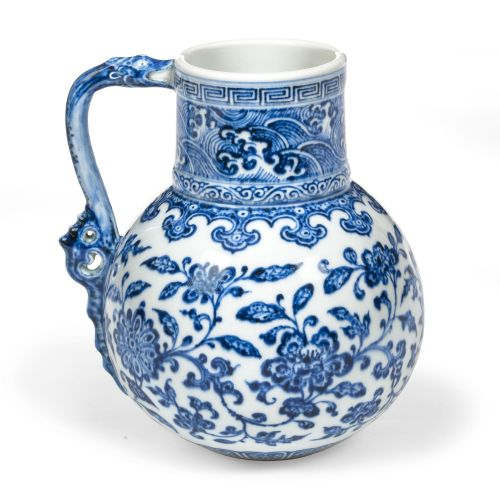 Vase/verseuse, Chine, dynastie Qing, période et marque Yongzheng (1723-1735)