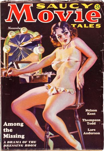 Norman Saunders - Saucy Movie Tales - 11/1936