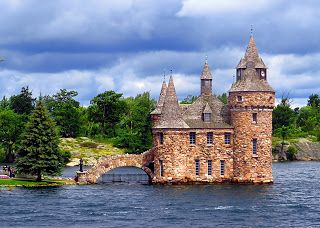 Challenge 71 - Boldt Castle Entrance Tower on Heart Island in the Saint Lawrence River