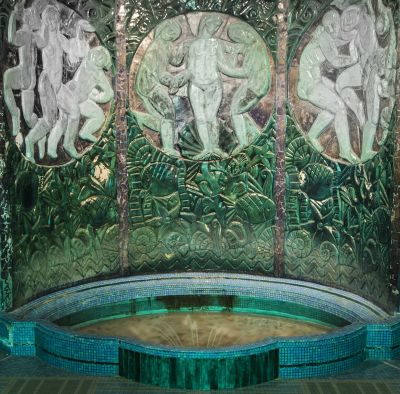 Fontaine du musee