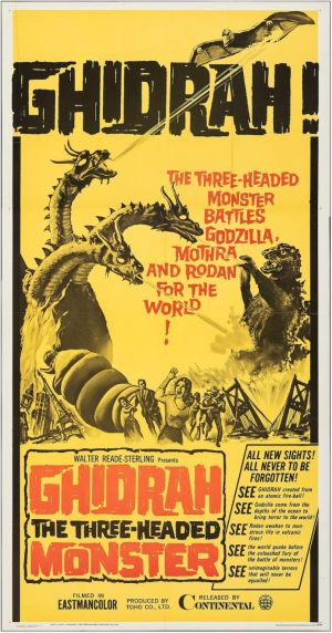Ghidrah, the Three-Headed Monster - Continental, 1965