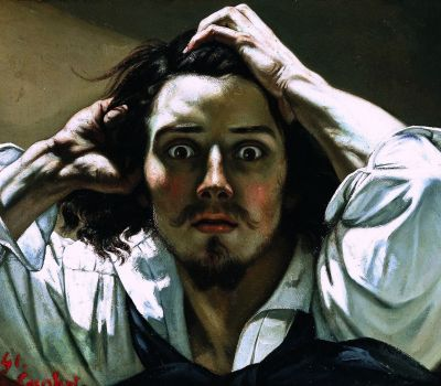 Gustave COURBET The Desperate Man 1844