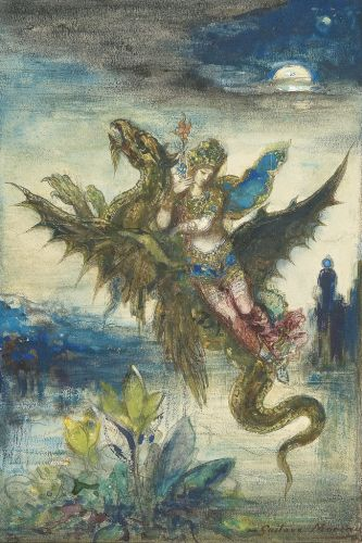 Gustave MOREAU Dream of the Orient or The Peri