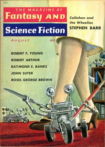 Emsh - The Magazine of Fantasy and Science Fiction, 08/1960