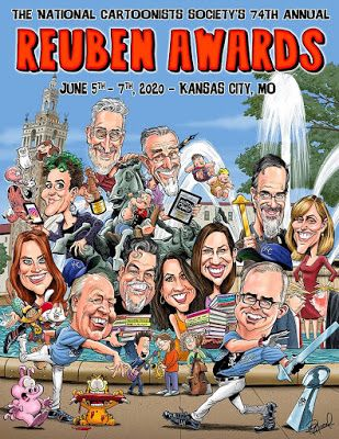 National Cartoonists Society's annual Reuben Awards Weekend