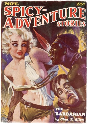 H. J. Ward - Spicy Adventure Stories - 1934-11