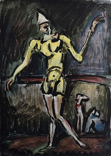 Le clown de Georges ROUAULT