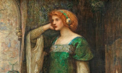 Molly B. EVANS A Damsel in the Tower 1895-96