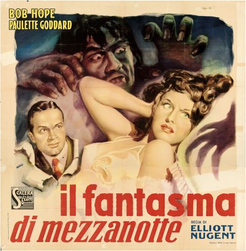 The Cat and the Canary affiche italienne