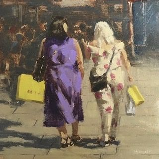 Ladies on Oxford St