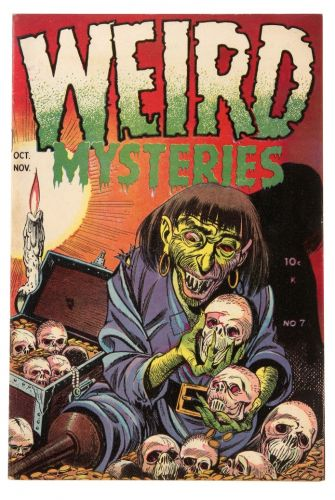 Weird Mysteries No 07 illustration:  Bernard Baily