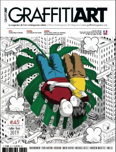Graffiti Art 45 arrive dans les kiosques !