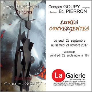 Vernissage vendredi 29 septembre à Mortagne au Perche (61400)