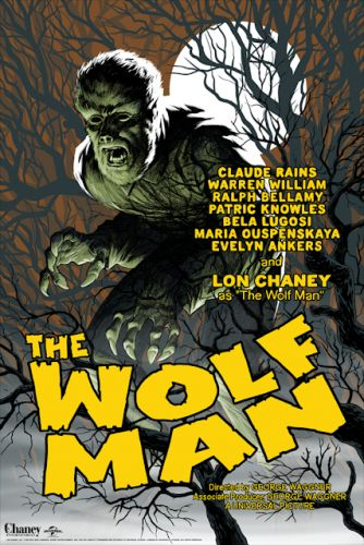 The Wolf Man by Eric Powell