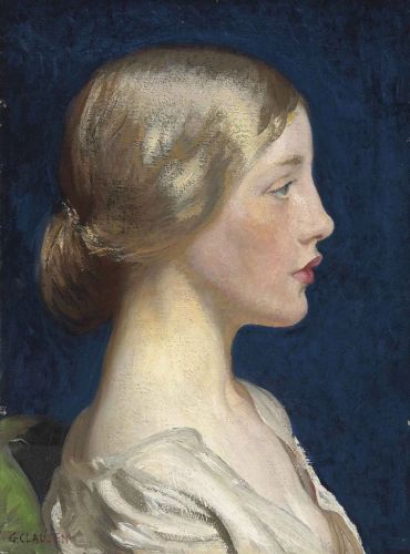 George CLAUSEN Lily 1916