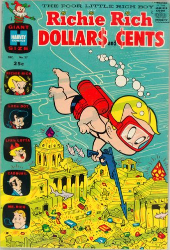 Richie Rich Dollars and Cents No 27 - Harvey, 1968