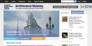 Reviews Editor , Architectural Histories