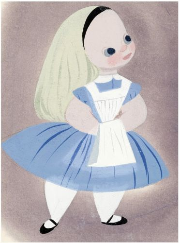 Mary Blair - Alice in Wonderland - Walt Disney, 1951