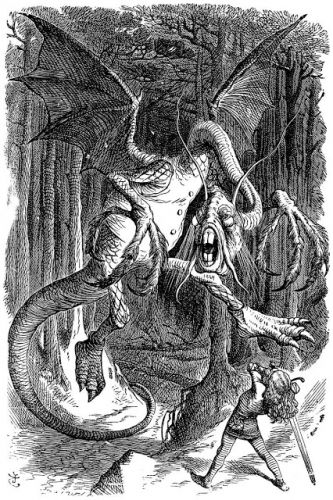 John Tenniel - The Jabberwocky, 1871