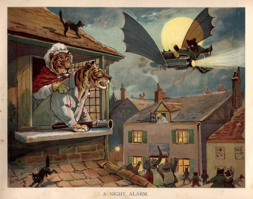 The G H Thompson - Airship in Animal Land - Ernest Nister, London, c. 1910