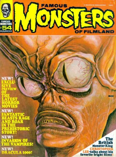 Ron Cobb - Famous Monsters No 54 (1969), Invasion of the Saucer Men